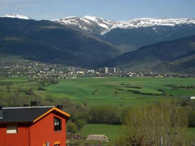 Valle de la Cerdanya desde Puigcerda
