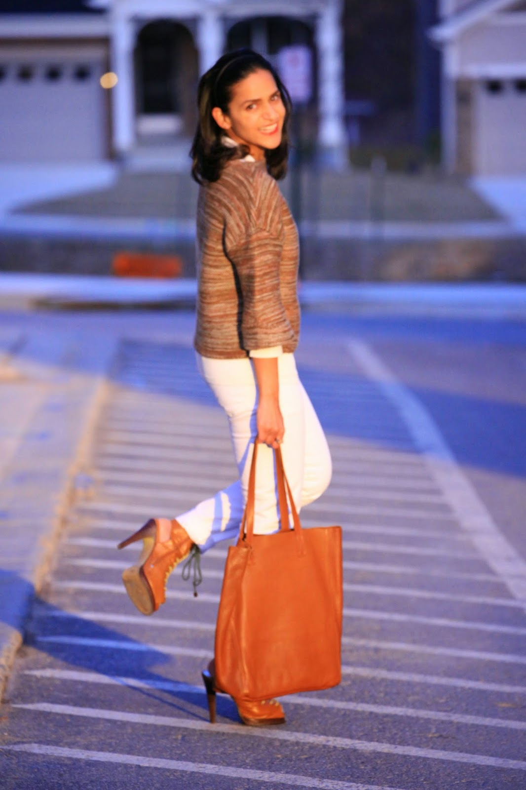 Sweater - GAP Jeans - GAP Shoes - ASOS Bag - Cuyana Tanvii.com