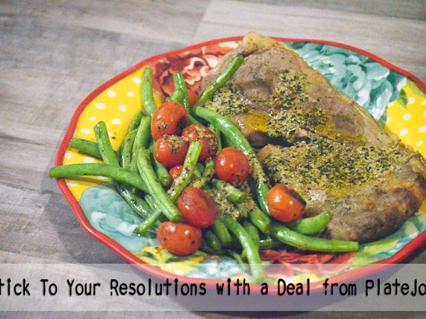 Stick To Your Resolutions with a Deal from PlateJoy  #ad