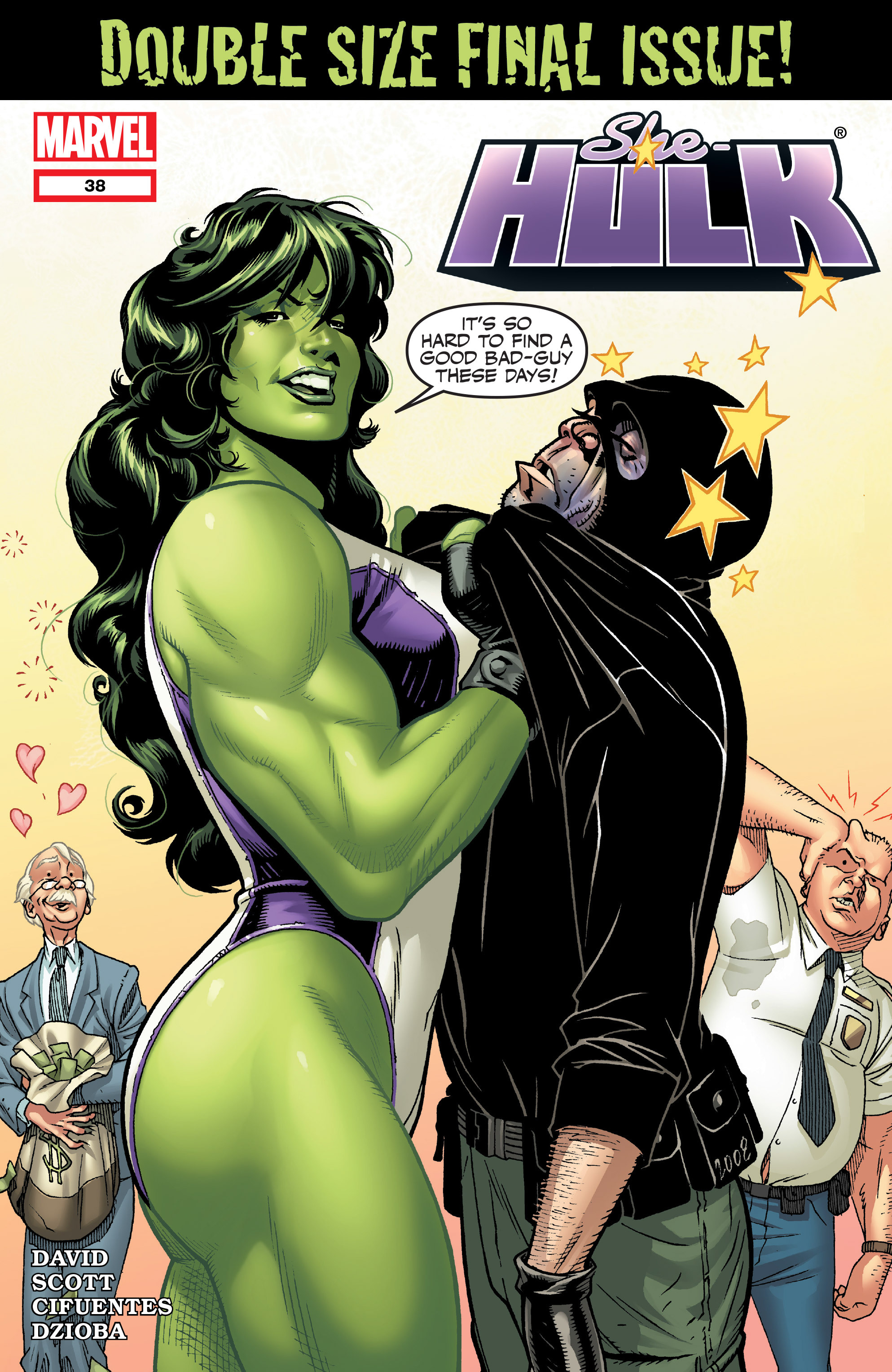 Read online She-Hulk (2005) comic -  Issue #38 - 1