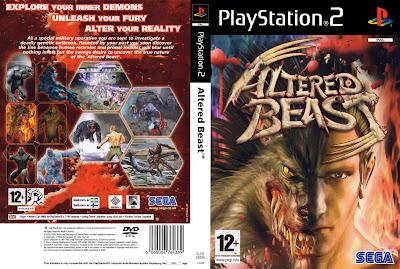 Altered Beast PS2 DVD Capa