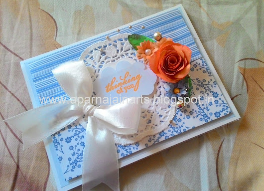 Greeting Card Tutorial using Lace Paper