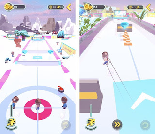 Review Game Android Terbaru Agustus 2018 Curling Buddies