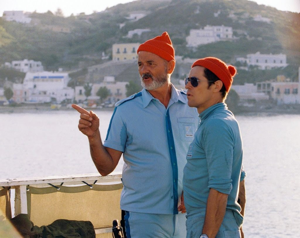 the life aquatic with steve zissou bill murray willem dafoe