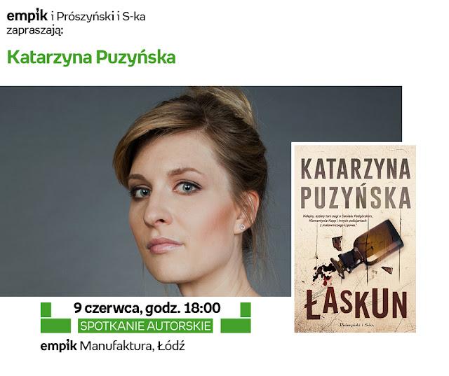 Katarzyna Puzyńska i Ilona Łepkowska w łódzkim Empiku!