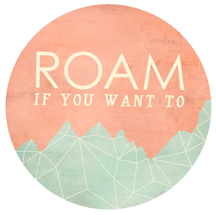 Roam If You Want To Print from Jump Off The Page