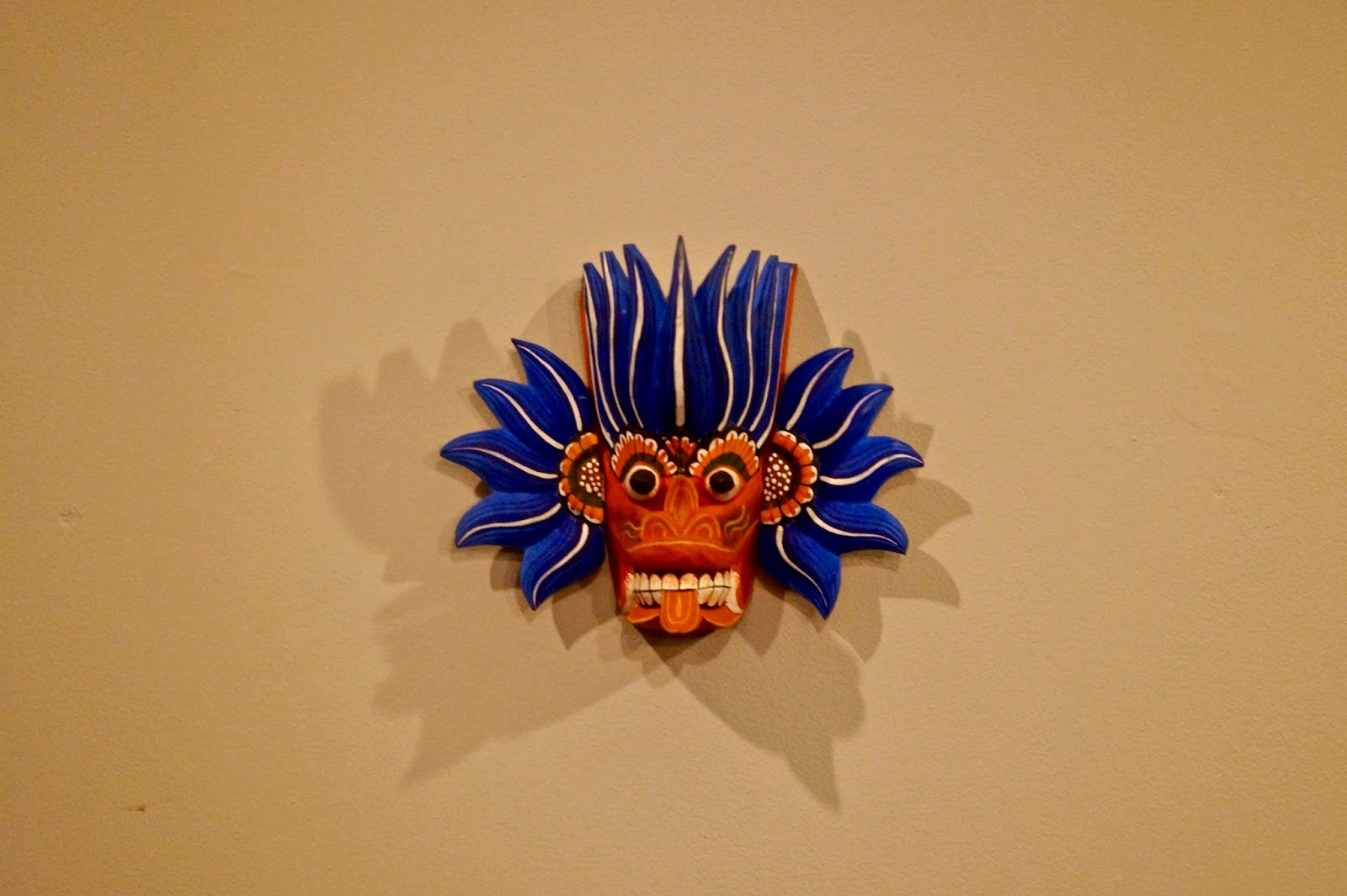 the coconut tree traditional sri lankan mask
