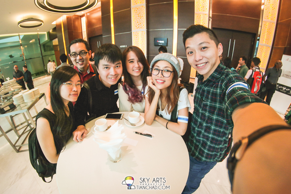 #TCSelfie with blogger buddies during weBoost product launch Ivy, Isaac, HuaiBin, Denise, Cheesie and myself!