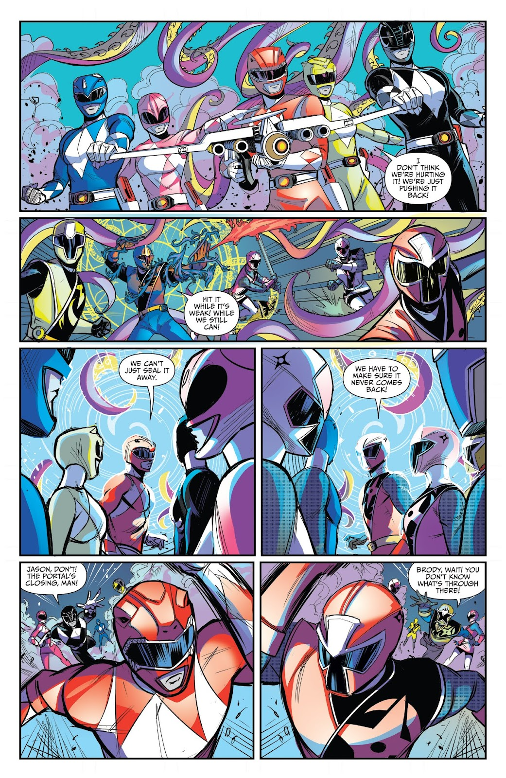 Read online Mighty Morphin Power Rangers 25th Anniversary Special comic -  Issue # Full - 25