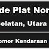 Kode Plat Nomor Kendaraan Barito Utara, Selatan & Timur