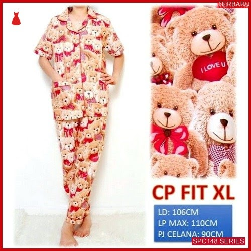 SPC148P54 Piyama Bear Bhn Cp Baju Tidur Wanita | BMGShop
