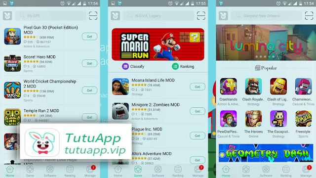 تحميل متجر Tutu App VIP النسخة المدفوعة بدون جلبريك 2020