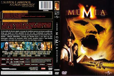 Filme A Múmia (The Mummy) DVD Capa