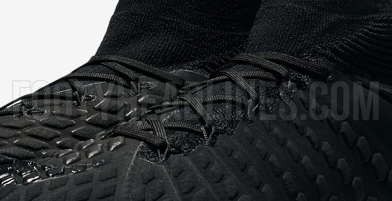 0b80c18d5d2 A new Nike Academy Pack was released today and with it a full blackout look  for the Hypervenom Phantom III DF. The all-black Nike Hypervenom Phantom 3  DF ...
