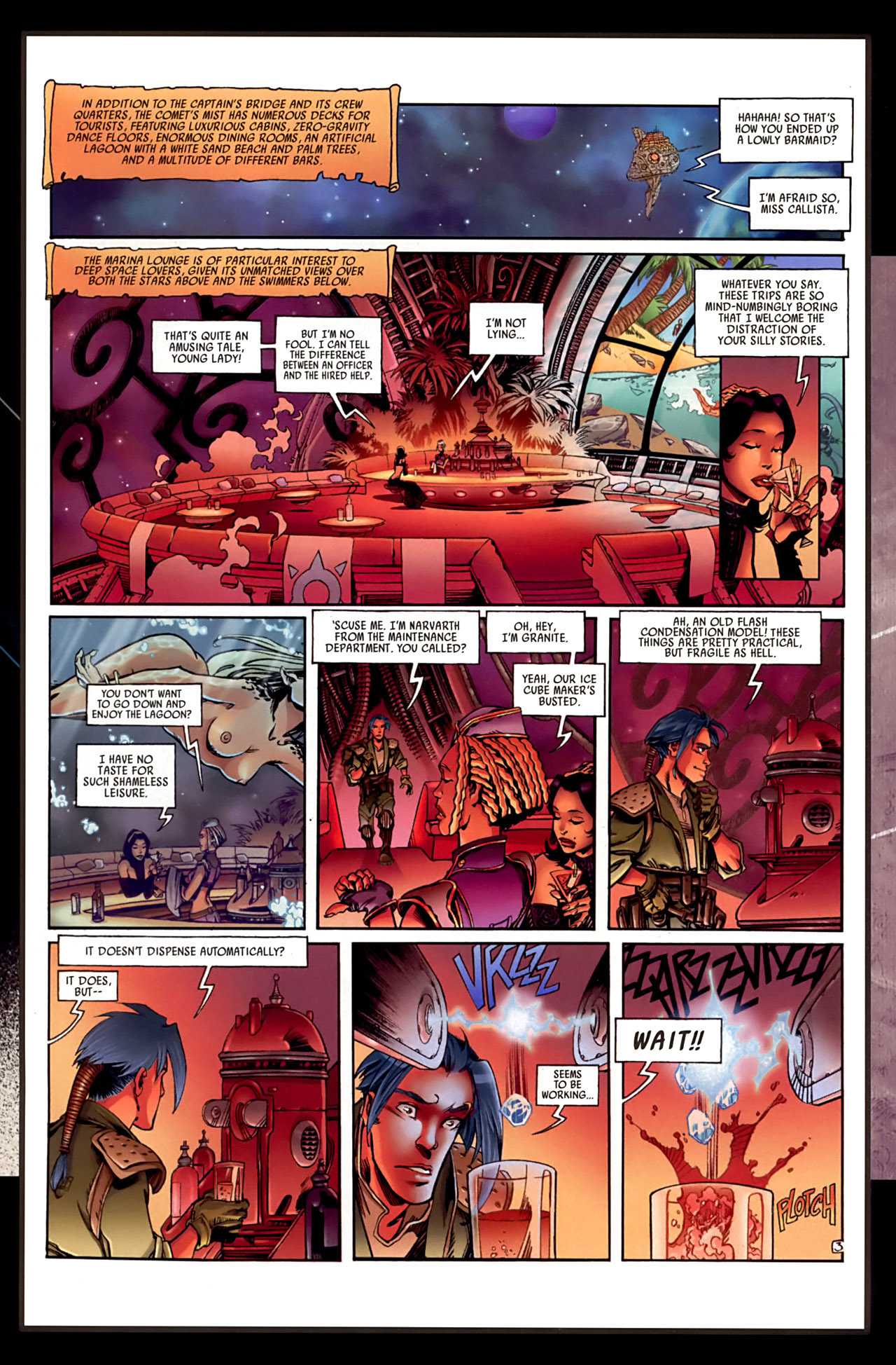 Read online Sky Doll comic -  Issue #3 - 55