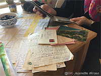 Spennende med  slektshistorie i brevform!