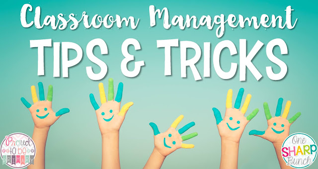 Elementary Classroom Management Techniques : One sharp bunch classroom management tips tricks