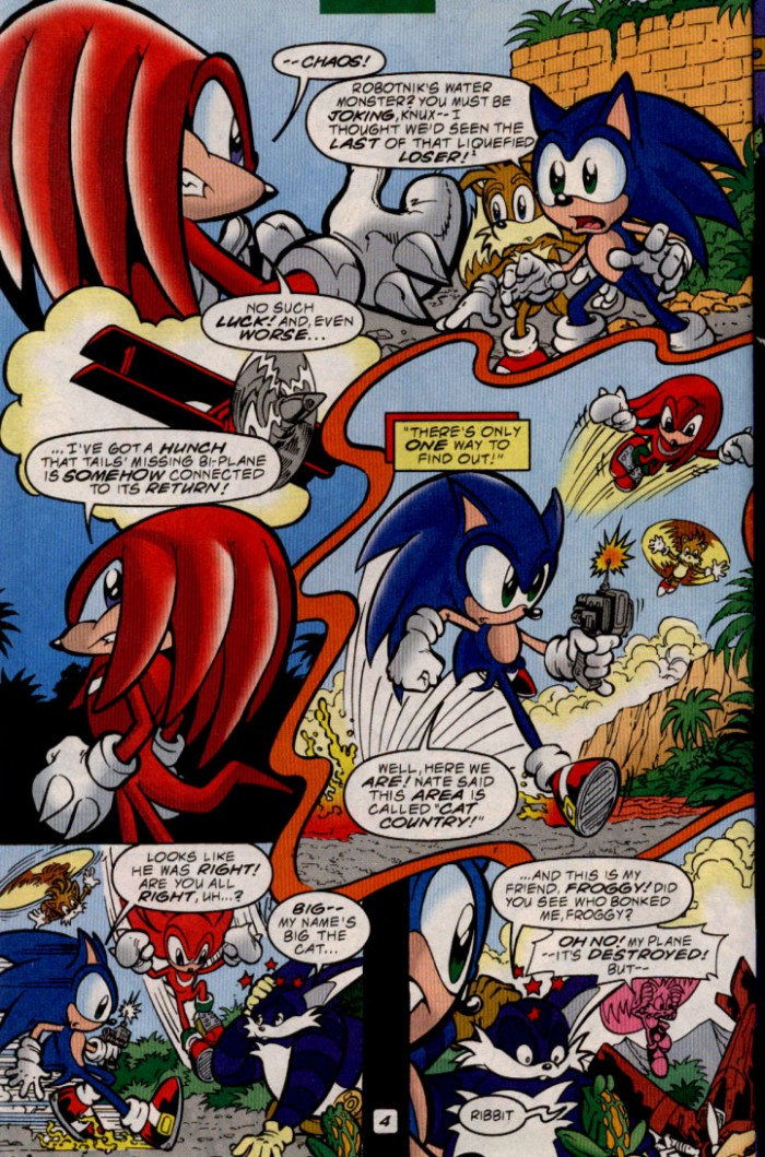 Read online Sonic The Hedgehog comic -  Issue #83 - 5