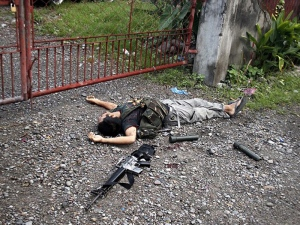 Polis Tembak Mati 6 Pengawal Peribadi Datuk Bandar | Polis Komando Filipina menembak m