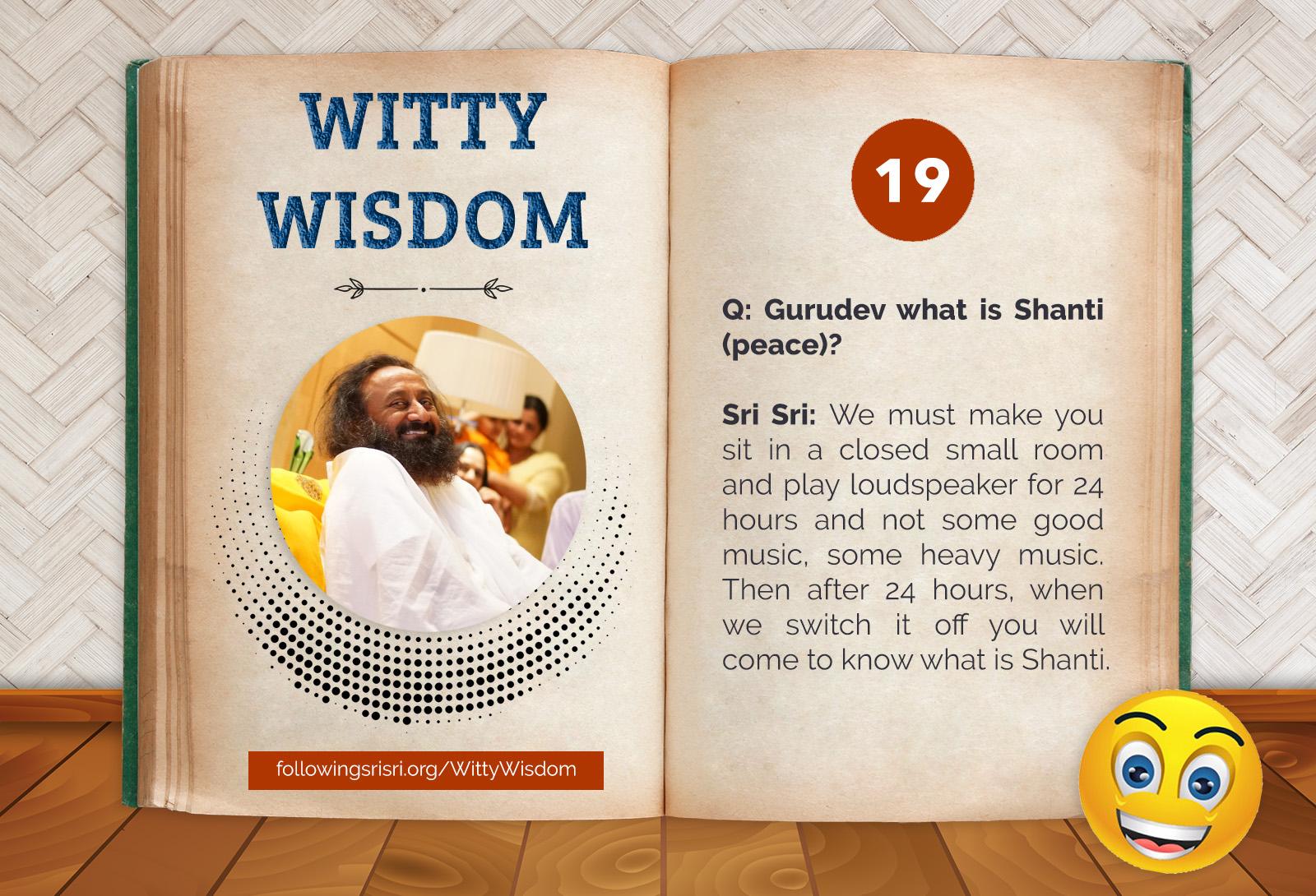 Shanti | Witty Wisdom