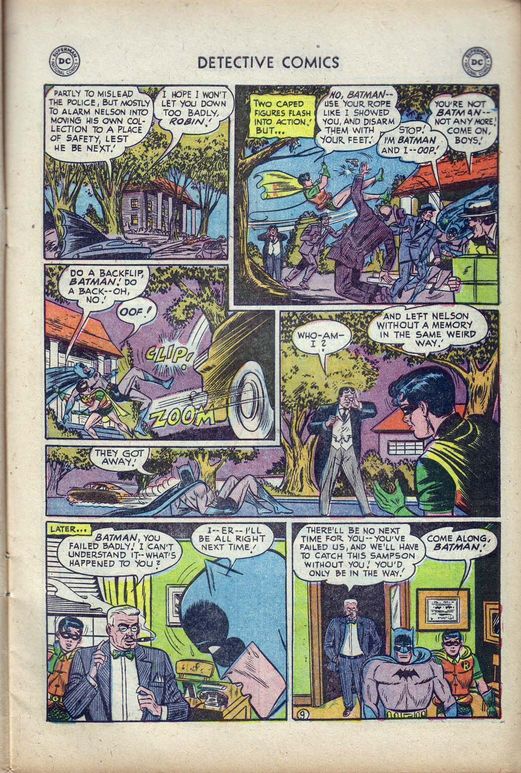 Read online Detective Comics (1937) comic -  Issue #190 - 11