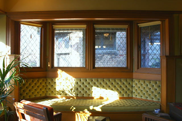 Bay windows light up Frank Lloyd Wright Home and Studio