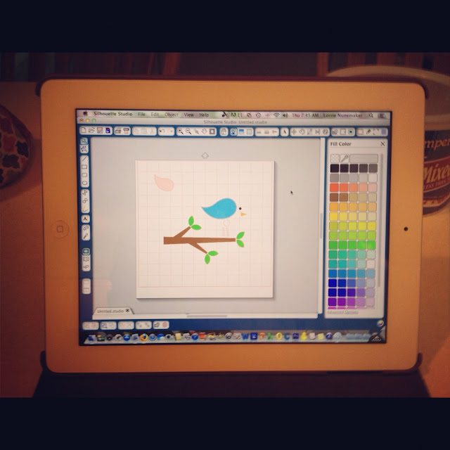 Lorrie's Story: Using Silhouette Studio Software On IPAD