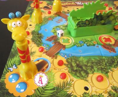 Настольная игра Файні жирафи для детей