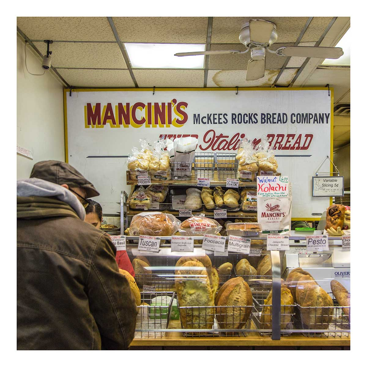 Mancinis bread the strip district confirm. join