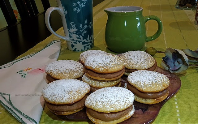 Whoopies  De Plátano Y Chocolate
