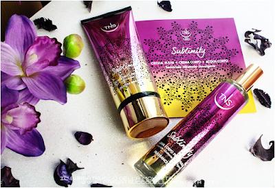 sublimity Tns Cosmetics crema e acqua profumata