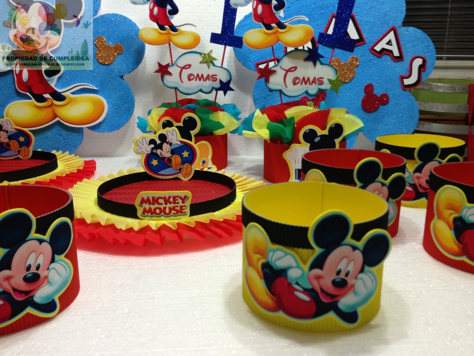 Decoraciones Infantiles De Mickey Decoraciones Para Cumple Anos De Mickey Mouse Decoraciones