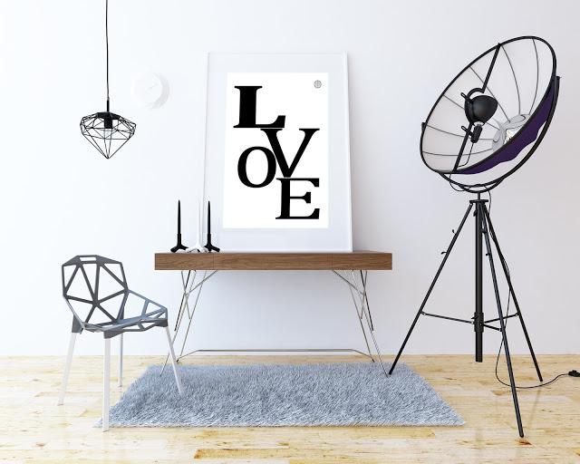 Poster free Love a San Valentino