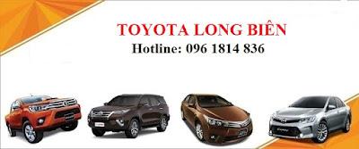 Khuyến mại lớn khi mua xe Toyota tại Long Biên trong tháng 8
