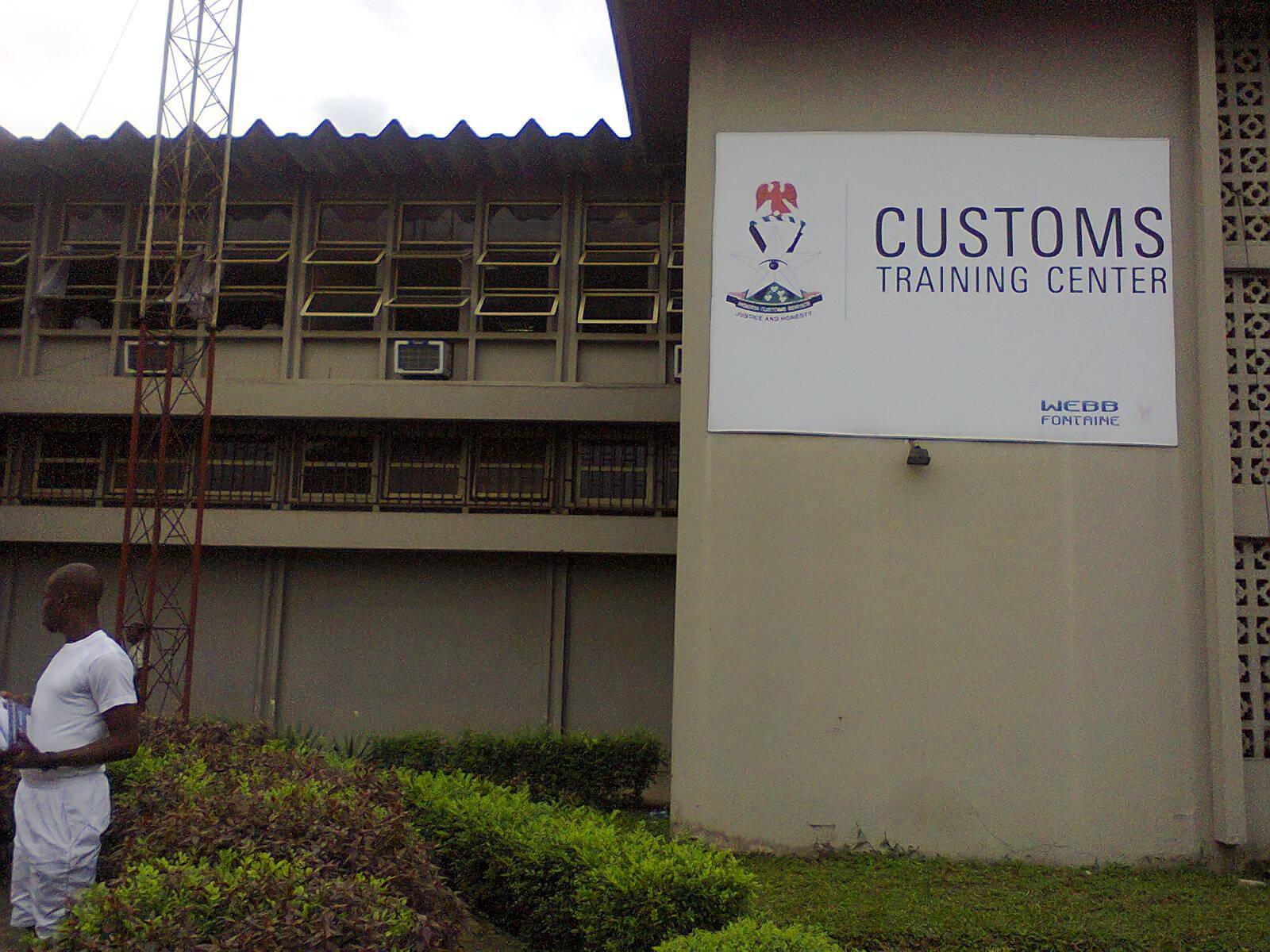 Behold The Customs Training Center, Where Senior Officers