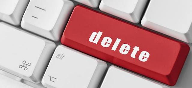 Bisakah Blogger Menghapus Blog Anda?