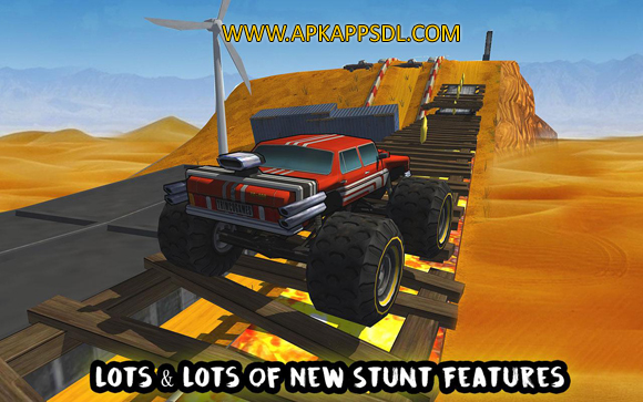 Download Crazy Monster Bus Stunt Race Apk Mod v1.3 Full Version 2017 Free