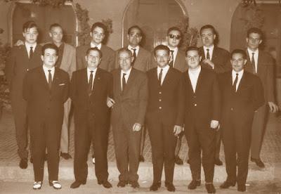 Componentes del Club d'Escacs Terrassa en 1964