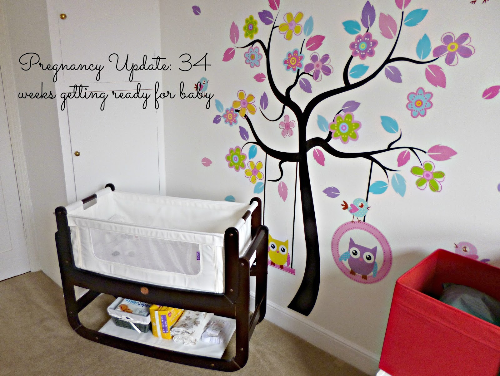Pregnancy update: 34 Weeks getting ready for baby