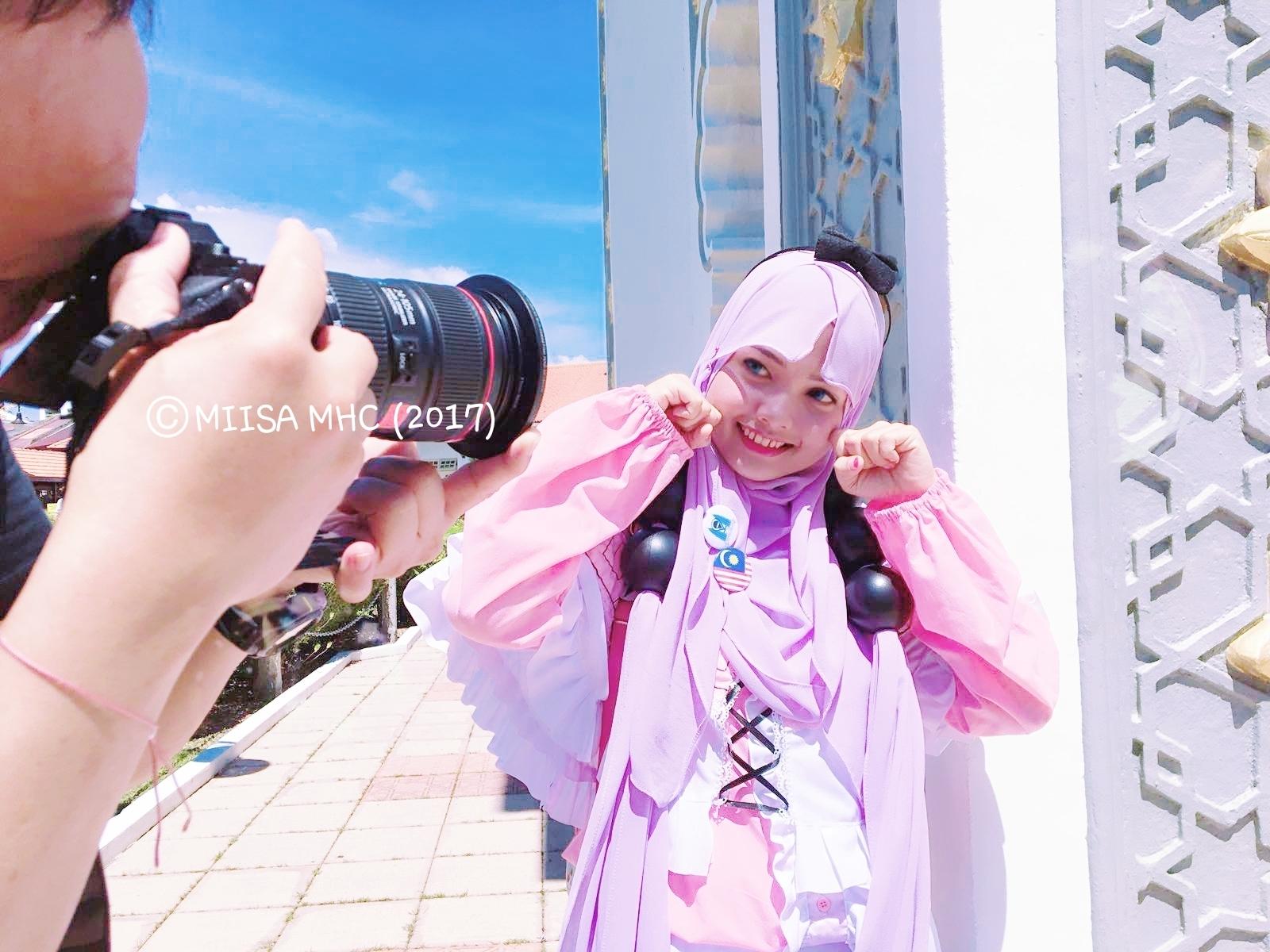Tutorial Hijab Cosplay Anime - Ragam Muslim