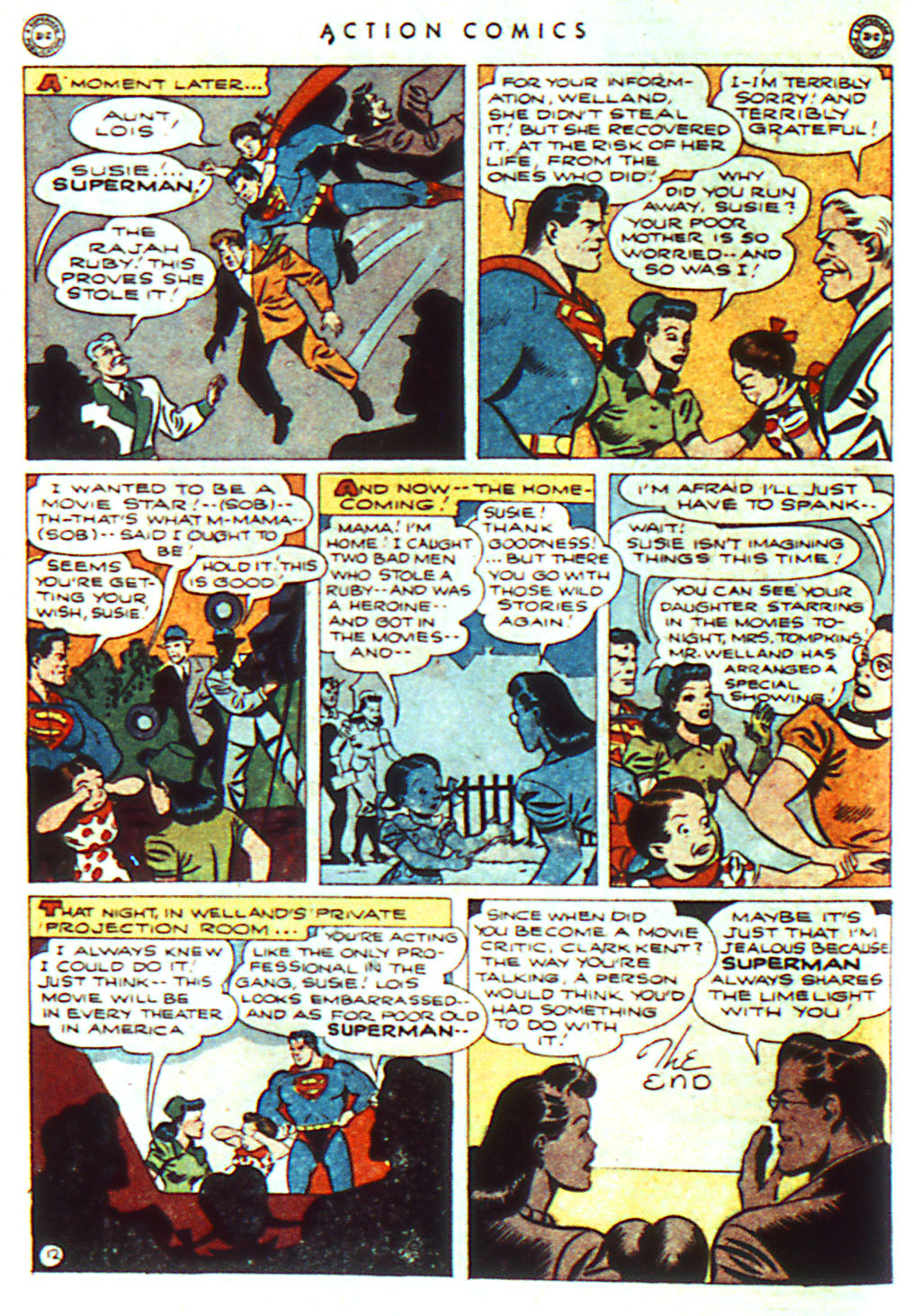 Read online Action Comics (1938) comic -  Issue #98 - 14