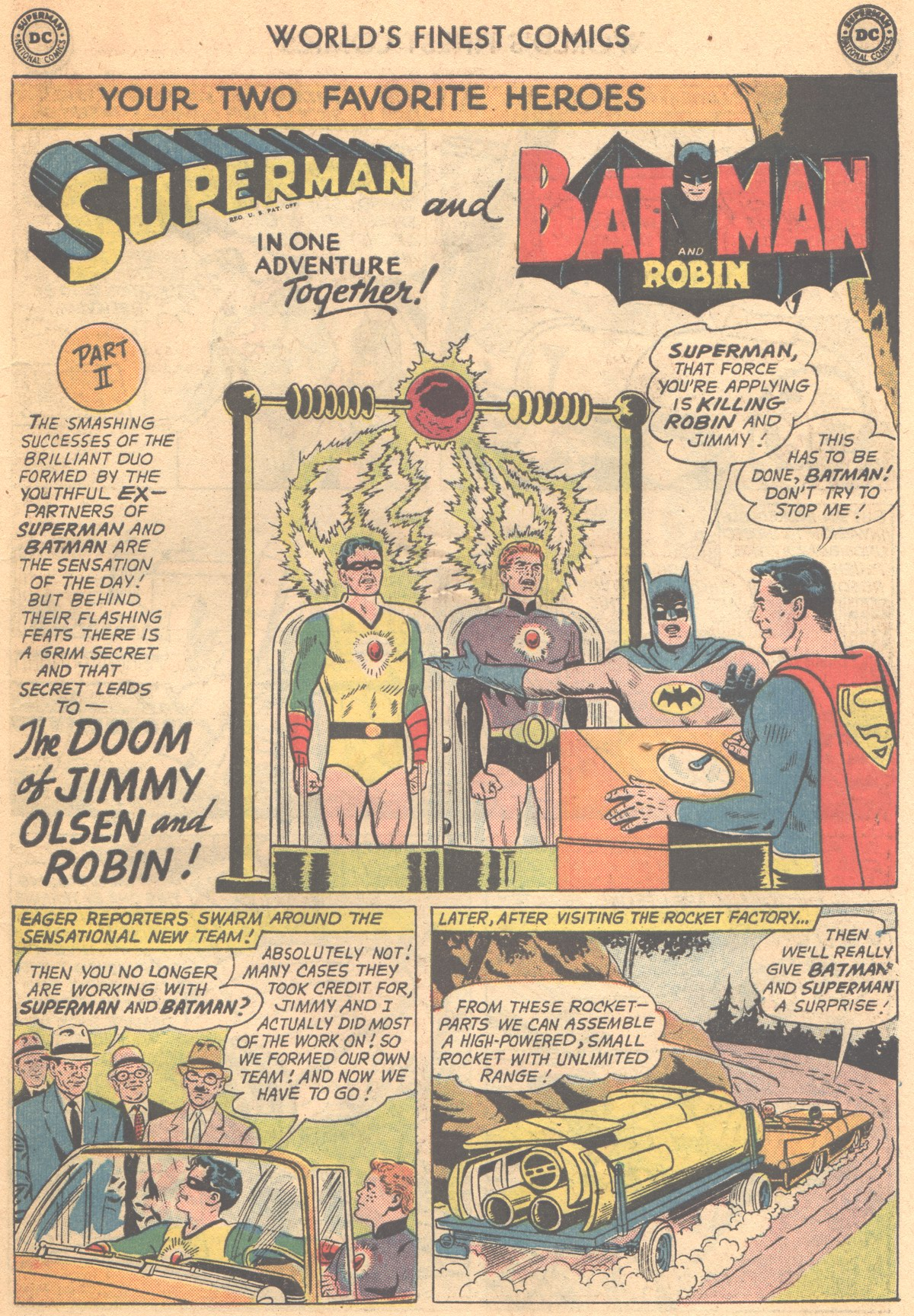 Read online World's Finest Comics comic -  Issue #147 - 15