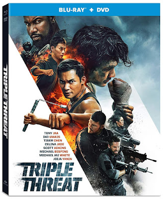 Triple Threat 2019 Blu Ray