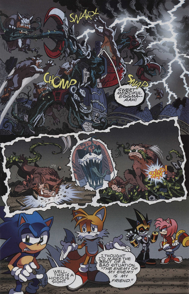 Read online Sonic The Hedgehog comic -  Issue #246 - 17