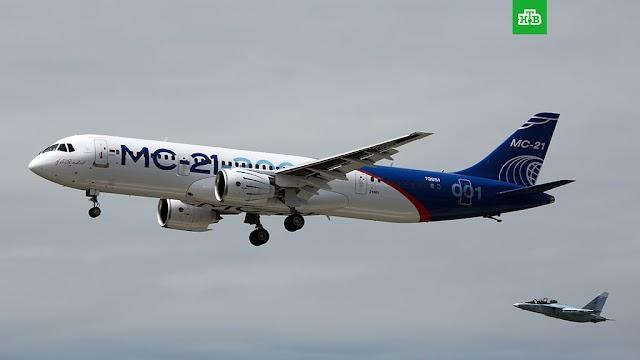 Boeing 737 Max 8 Jatuh, Ini Dia Pesawat MC 21-300 yang Ditawarkan Rusia kepada Indonesia Diklaim Lebih Baik