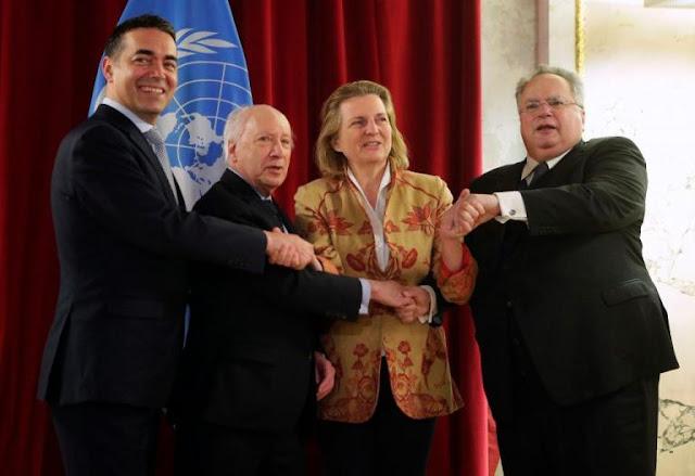 Νίμιτς: Υπάρχει μεγάλη βελτίωση για το Σκοπιανό, παραμένουν τα δύσκολα ζητήματα