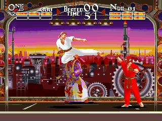 Karate Chakun Yaraku Shanku: The Karate Tournament+arcade+game+portable+download free