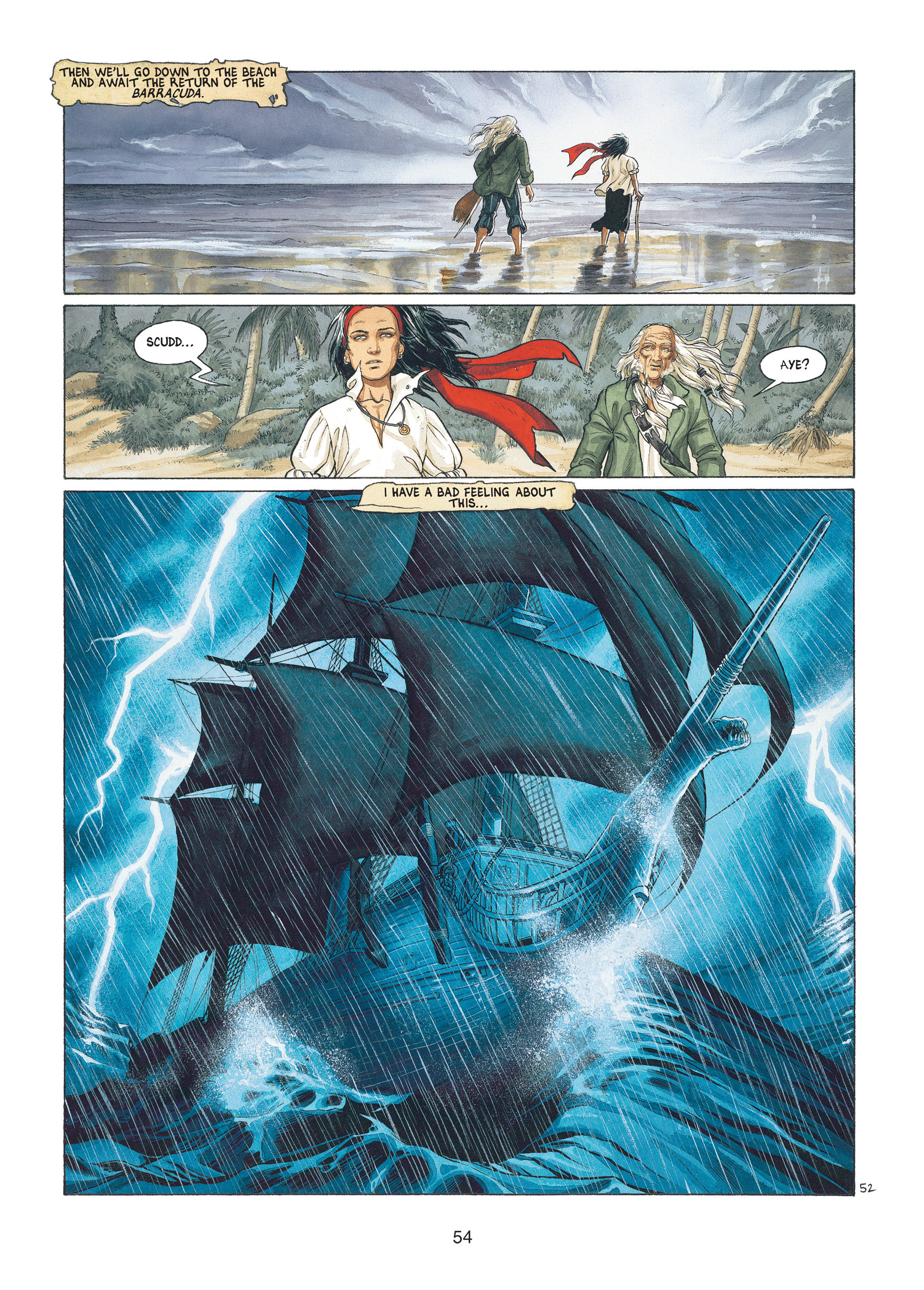 Read online Barracuda comic -  Issue #1 - 54