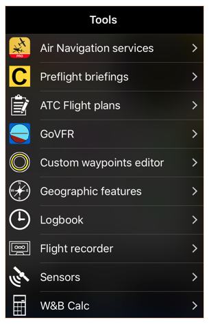 9 features of air navigation pro ios you should know air rh blog airnavigation aero Airplane Navigation Land Navigation