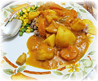 image singapore chicken curry